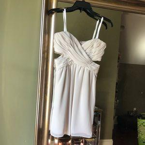 NWT BCBG Strapless Dress with Cutouts (sz 2)